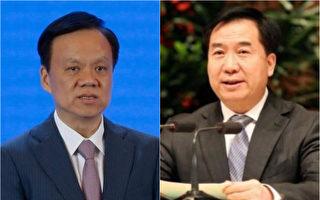 台媒说,习近平的旧部陈敏尔(左)可能跻身中共十九届政治局常委,李希(右)可能调任重庆市委书记。(大纪元合成图)