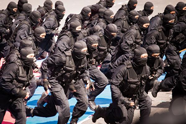 國防部11日在立法院表示,今年國軍政軍兵推對「反斬首」科目有進行完整演練。 (陳柏州/大紀元)