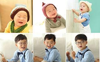 一暝大一吋 5岁韩国三胞胎暴风长高 釜山影展帅气亮相