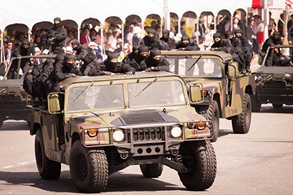 國防部11日在立法院表示,今年國軍政軍兵推對「反斬首」科目有進行完整演練。(陳柏州/大紀元)