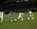 川崎前鋒9月30日在J聯賽的第28輪比賽中主場5-1大勝大阪櫻花隊。(樹森/大紀元)