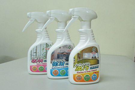 透过天然碱植分解的原理去垢,强效去污不伤手不污染环境。(谊澄提供)