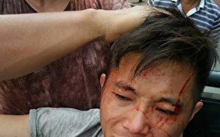 9月30日,福建福州市闽清县梅溪镇上埔村一名退伍兵郭永欣家里遭到数百名黑保安暴力强拆。(受访者提供)