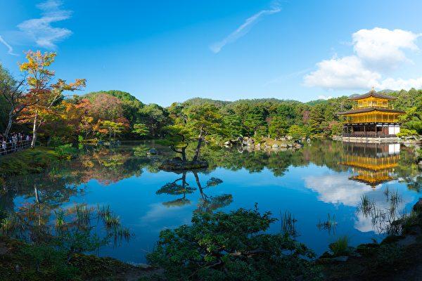 京都金阁寺。(Jordy Meow/CC/Pixabay)
