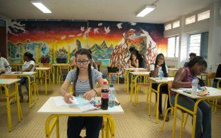 州教育廳16日宣布,允許使用在州考中已經及格的分數,來代替高中測試評估。 (Helene Valenzuela/Getty Images)