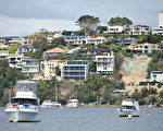珀斯23个百万房价区中,8个在河边,9个离市中心近,5个沿海,表明这些特征极具吸引力。(林文责/大纪元)