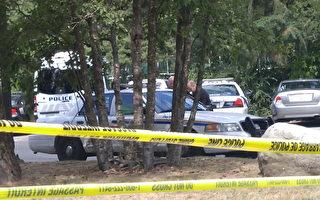图说:13岁华裔女孩申小雨(Marrisa Shen)在本拿比中央公园遇害后,警方加强了对该公园的巡逻。(大纪元图片)