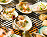 位于新州Fort Lee 市的Obaltan BBQ Grill韩国海鲜烧烤店盛大新张。(张学慧/大纪元)