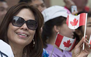移民占加拿大人口21.9% 近半数来自亚洲