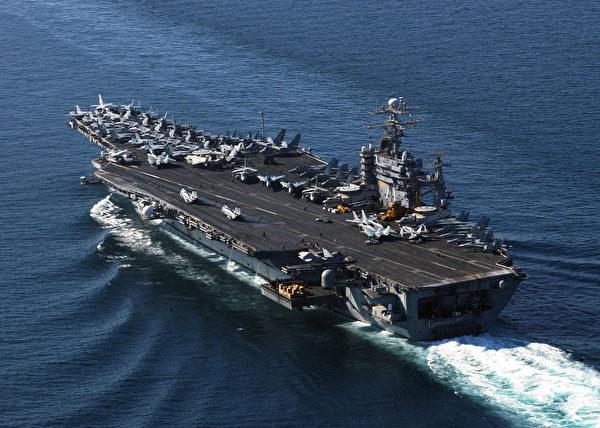 西奥多•罗斯福号航母。(US Navy/Getty Images)