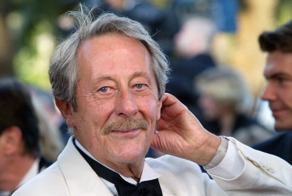 法国影坛巨星让·雷谢夫(Jean Rochefort)10月9日凌晨在巴黎辞世,享年87岁。图为他在2003年时的近照。(BORIS HORVAT/AFP/Getty Images)