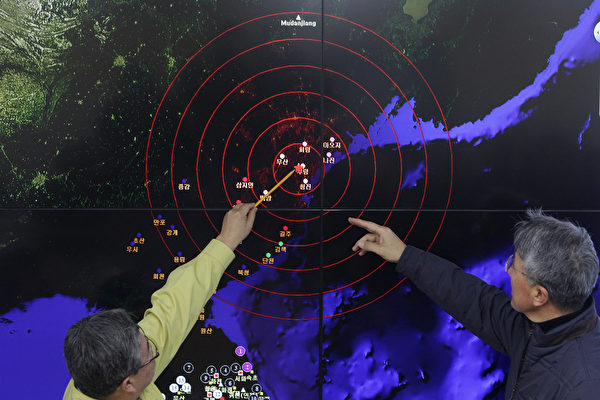 自从2006年以来,朝鲜已经进行了六次核试验。所有六次都是在万塔山深处的隧道里进行,此处被称为丰溪里核试验设施。(Chung Sung-Jun/Getty Images)