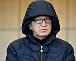 76歲的德國頂級特工莫斯因逃稅指控,2016年9月在波鴻出庭受審。這是他為數不多的幾張公開照。(Sascha Steinbach/Getty Images)