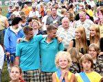 美國特溫斯堡每年都舉行雙胞胎大會。此圖攝於2007年。(Rick Gershon/Getty Images)