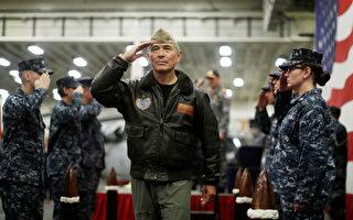 川普政府有意任命四星海軍上將哈里斯(Admiral Harry Harris)為澳洲大使,四星上將是和平時期美國海軍中的最高軍銜。 (Jason Reed - Pool/Getty Images)