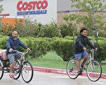 德州Pearland一家Costco門店。(THOMAS B. SHEA/AFP/Getty Images)