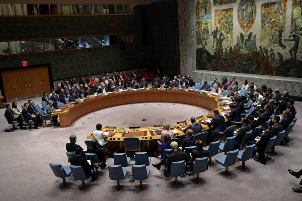 聯合國上個月擴大對朝鮮的經濟制裁後,十月初對四艘違反規定向朝鮮運送違禁物資的貨船,發出「全球碼頭禁令」,制裁朝鮮專家說,這是前所未有的舉動。 (Drew Angerer/Getty Images)