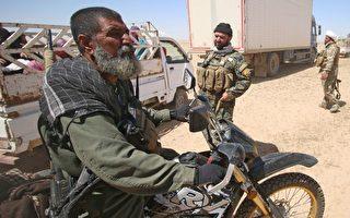 上週五在「收復哈維傑行動」的戰鬥中,當地有名的神槍手、外號「狙擊手族長」的 沙爾赫(Abu Tahsin al-Salhi) 陣亡,終年63歲。    (HAIDAR MOHAMMED ALI/AFP/Getty Images)