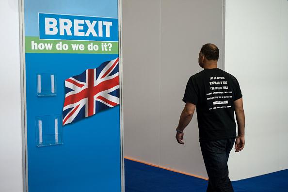 英国认为该做的已经都做了,就在等欧盟的决定了。( OLI SCARFF/AFP/Getty Images)