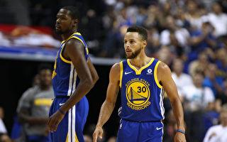 NBA勇士开季3战2败 库里、杜兰特遭驱逐