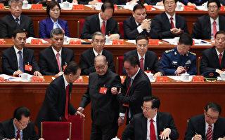 中共元老,前中組部長宋平出席開幕式,宋平被認為是江澤民的死敵。 (Photo by Lintao Zhang/Getty Images)