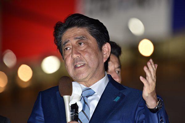 日本將於10 月22 日(週日)舉行眾議院議員選舉,首相安倍晉三一直面臨希望之黨的挑戰,不過選前安倍的自民黨支持率大幅超前,而希望之黨被立憲民主黨追上。(KAZUHIRO NOGI/AFP/Getty Images)