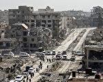 """周五(10月20日),库尔德人领导的""""叙利亚民主军""""(SDF)发表声明收复伊斯兰国(IS)大本营拉卡。(BULENT KILIC/AFP/Getty Images)"""