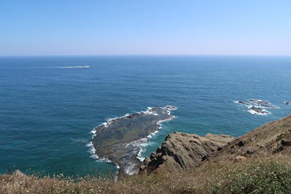 七美島的小臺灣。(徐曼沅/大紀元)