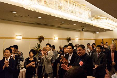 10月14日,設立在日本的亞洲自由民主連帶協議會在東京集會,紀念社團註冊五周年。(遊沛然/大紀元)