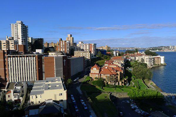 悉尼十大最宜居区,Kirribilli居首。(简沐/大纪元)