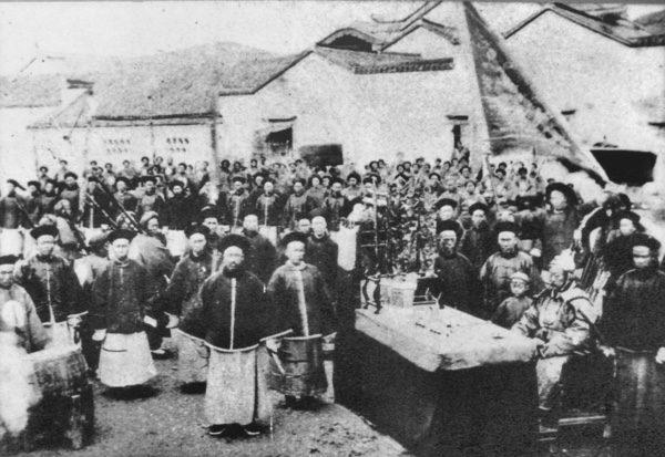 上海老城官员。(公有領域)