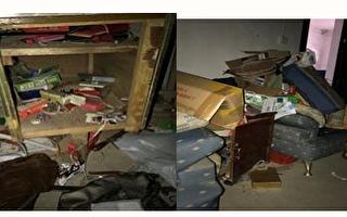 李美化被非法綁架;警察還把她家洗劫一空。(明慧網)
