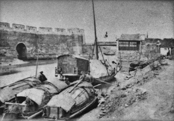 老上海水門。(公有領域)