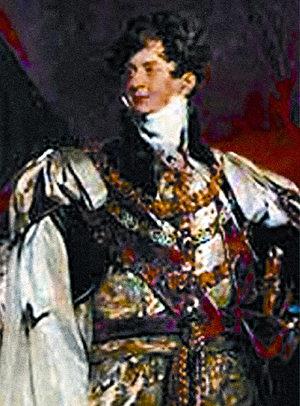 英国国王乔治四世。(白兰氏鸡精提供)