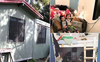 为了儿子 单亲妈花1万美元亲手建温馨小屋