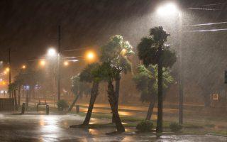 纳特飓风在密西西比州的豪大雨势。 (Mark Wallheiser/Getty Images)