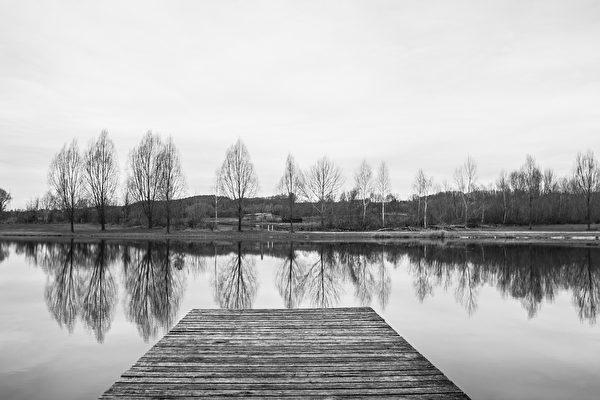 意境幽远的黑白照片。(Pixabay CC0 1.0)