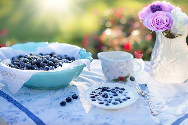 蓝莓。(Jill Wellington/CC/Pixabay)
