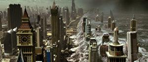 原本应该保护人类文明免于被极端气候破坏的卫星系统,突然在一夕之间转变成毁灭地球的终极武器。(华纳兄弟公司提供)