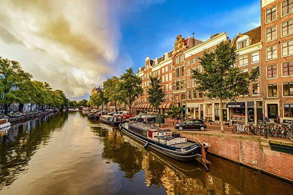 阿姆斯特丹运河。(Kirk Fisher/CC/Pixabay)