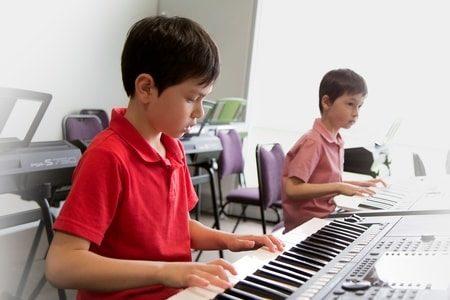 雅马哈音乐教育系统起初旨在开发孩子的潜能,培养他们用音乐表达自己的能力。(Yamaha Music Education提供)