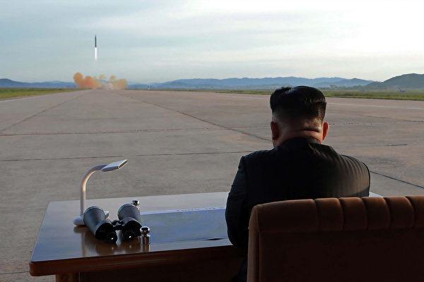 日媒稱,北京或許會先於美國對朝鮮發動打擊。 (STR/AFP/Getty Images)