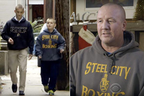 從警22年的老偵探曾經抱定要當單身,沒想到一對小兄弟的不幸讓他決心領養他們,他的人生也從此改變。(視頻截圖/大紀元合成)