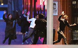 圖為2014年悉尼瑞士蓮咖啡屋人質劫持事件中的一幕。(Joosep Martinson/Getty Images)