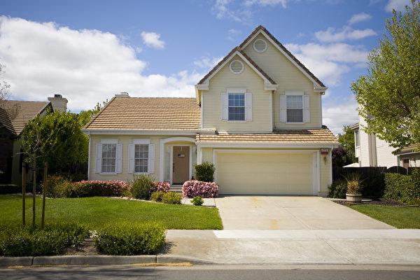 旧金山的一栋房屋。(Shutterstock)