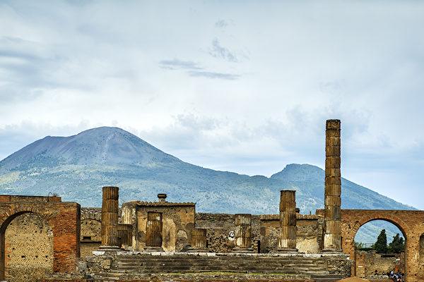 羅馬帝國的第二大城市——龐貝。(shutterstock)