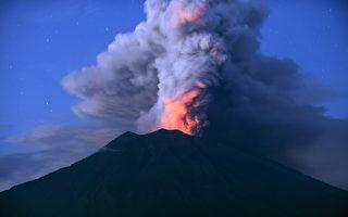 阿貢火山噴發 巴厘島機場關3天 12萬人滯留
