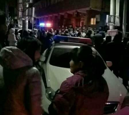 北京大兴一场大火引发全市的地毯式大清查,民众透露政府真正的目的是借此清理外来人口。图为顺义区李桥镇的南半壁店村。(受访者提供)