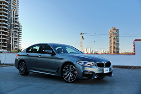 2017 BMW 540i xDrive。〈李奧/大紀元〉