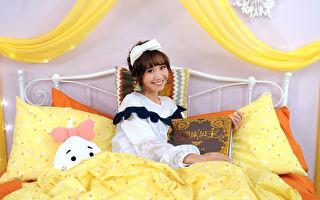 LuLu甜笑赖床拍MV 圆梦当童话公主